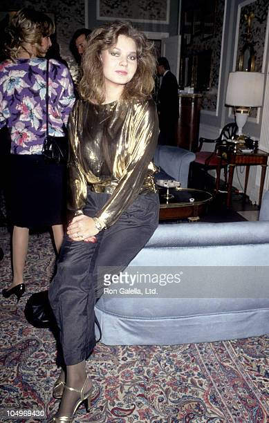 Maria Burton during Party In Honor of Contessa Francesca Braschi at Waldorf Towers in New York City New York United States
