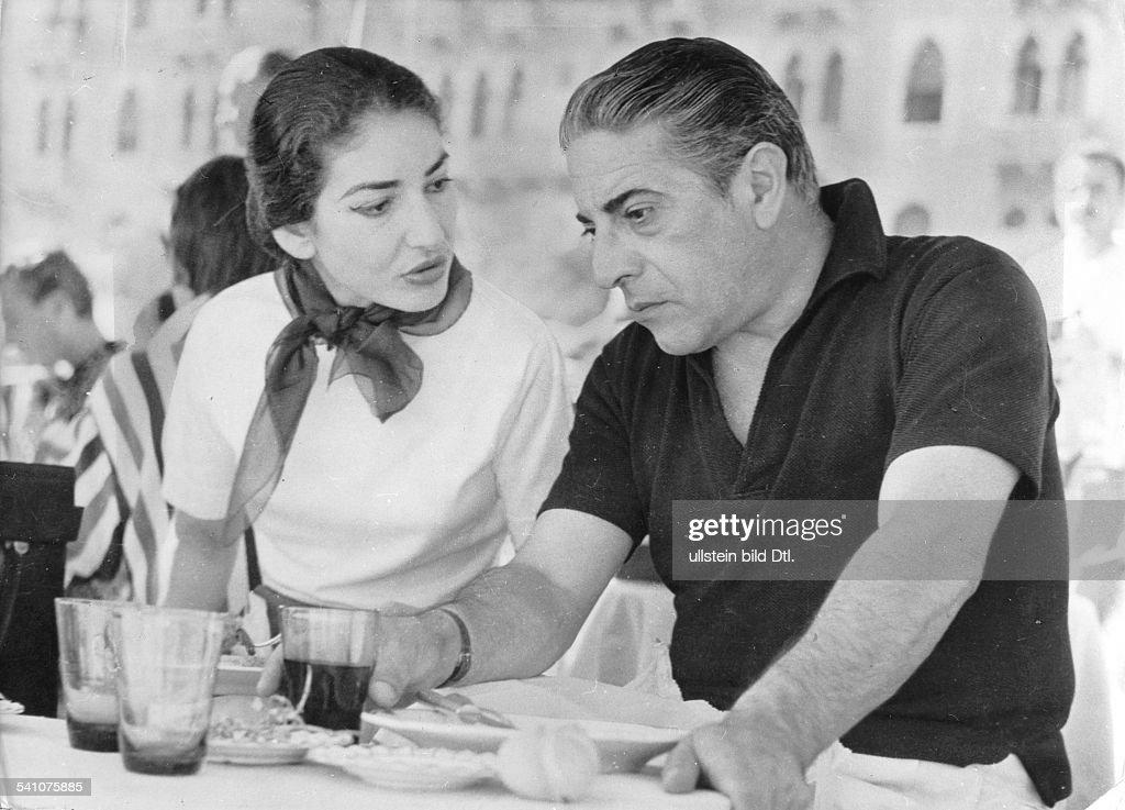 Maria Callas : News Photo