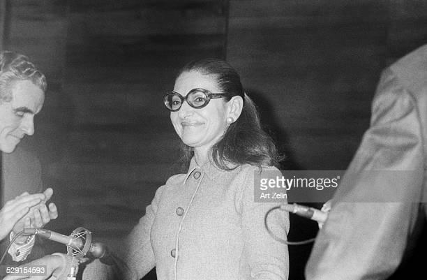 Maria Callas giving an interview circa 1970 New York