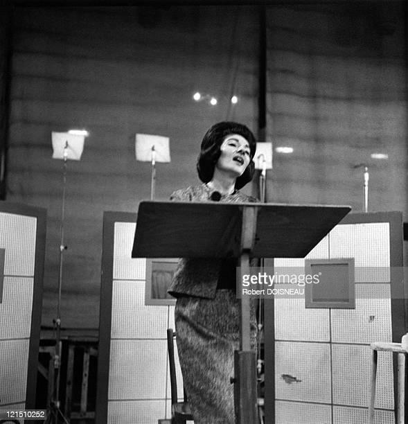 Maria Callas Rehearsal At The Salle Wagram In Paris 1963