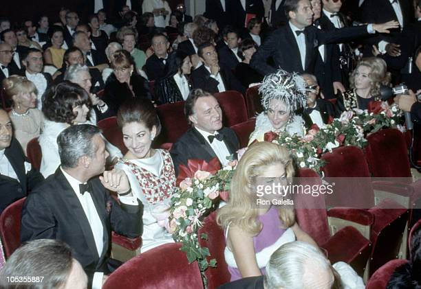 Maria Callas Richard Burton Elizabeth Taylor and Darryl Zanuck