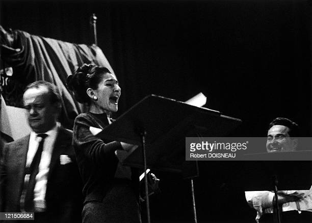 Maria Callas Salle Wagram Recording Of The Tosca In December 1964