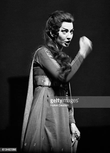 Maria Callas singing Medea at Covent Garden