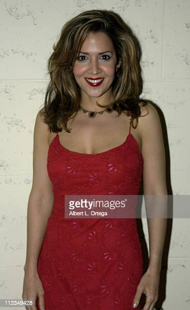 Maria Canals during 2002 ALMA PreAwards Gala at The Regal Biltmore Hotel in Los Angeles California United States