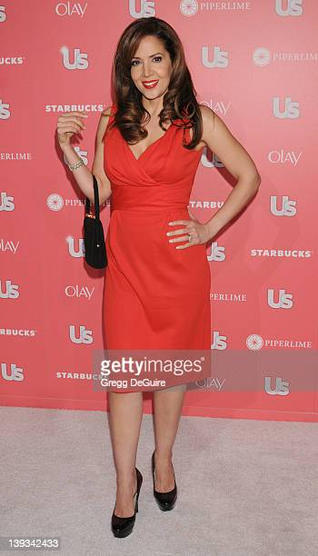 Maria CanalsBarrera arrives at the US Weekly Annual Hot Hollywood Style Issue Party Celebrating 2011 Style Winners at Eden on April 26 2011 in...