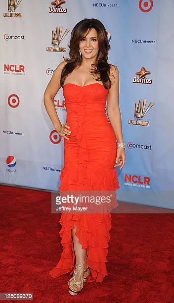 Maria CanalsBarrera attends the 2011 NCR ALMA Awards at Santa Monica Civic Auditorium on September 10 2011 in Santa Monica California