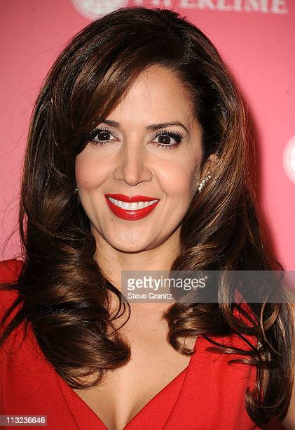 Maria CanalsBarrera attends the Us Weekly Hot Hollywood Party at Eden on April 26 2011 in Hollywood California
