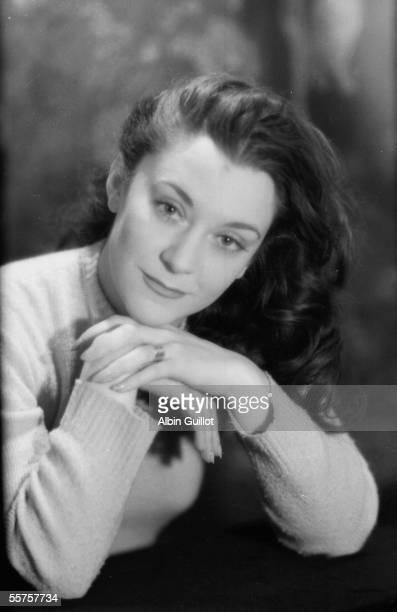 Maria Casares French actress of Spanish origin 1946