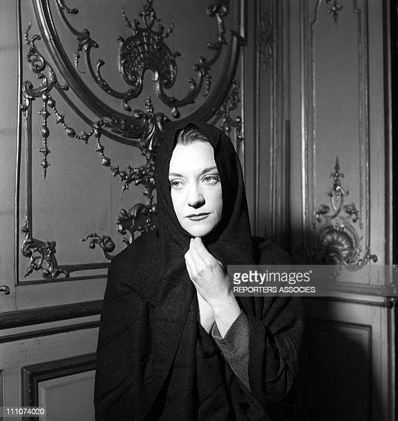 Maria Casares in the play Le diable et le bon dieu written by JeanPaul Sartre in Paris France in June 1951