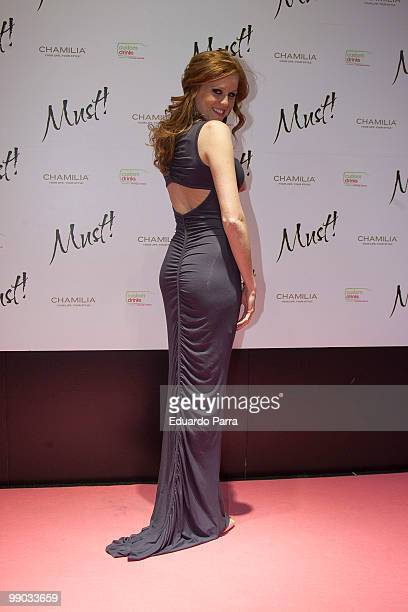 Maria Castro attends Must magazine awards at Telefonica flagship store on May 11, 2010 in Madrid, Spain.