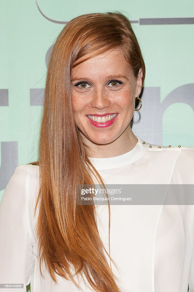Maria Castro attends the 'Lifting' premiere at Infanta Isabel Theatre on March 21, 2013 in Madrid, Spain.