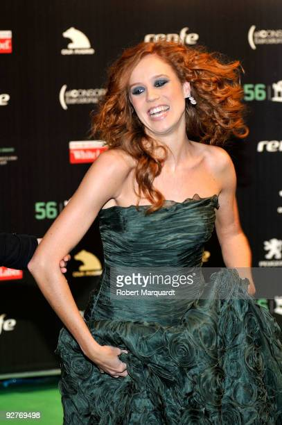 Maria Castro attends the photocall for the 2009 Onda Awards at the Theater Liceu on November 4 2009 in Barcelona Spain