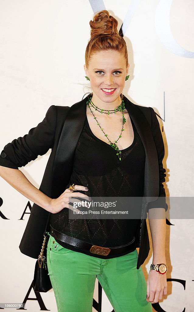 Maria Castro attends 'Venuto Al Mondo' premierte at Capitol Cinema on January 10, 2013 in Madrid, Spain.