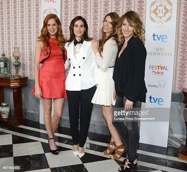 Maria Castro, Celia Freijeiro, Mariona Tena and Marta Larralde attend the 'Seis Hermanas' photocall during FesTVal Murcia 2015 on March 24, 2015 in...