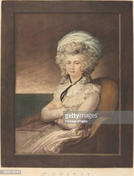 Maria Cecilia Louisa Cosway, 1787. Artist Valentine Green.