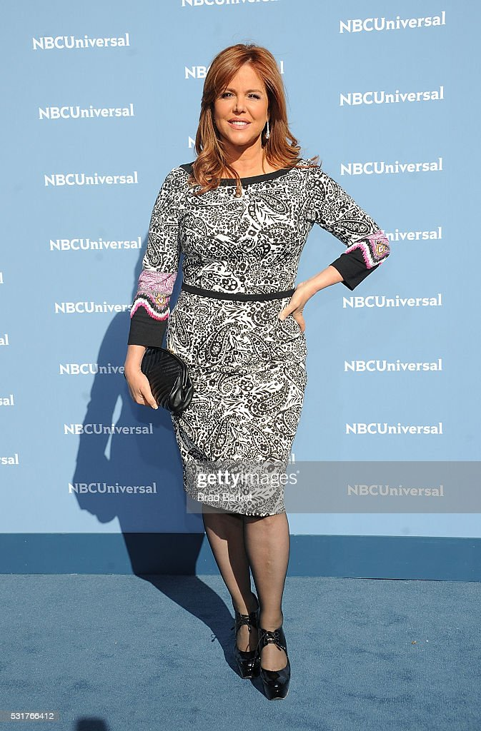 Maria Celeste Arraras attends the NBCUniversal 2016 Upfront Presentation on May 16, 2016 in New York City.