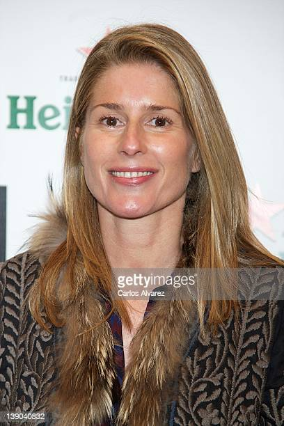 Maria Chavarri attends ARCO Fair cocktail party 2012 at Neptuno Palace on February 15 2012 in Madrid Spain