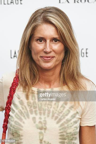 Maria Chavarri attends Las Rozas Village terraces opening at the Las Rozas Villas Comercial Center on July 1 2015 in Madrid Spain
