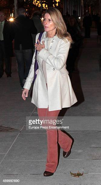 Maria Chavarri attends the opening of Louis Vuitton store on December 1 2014 in Madrid Spain