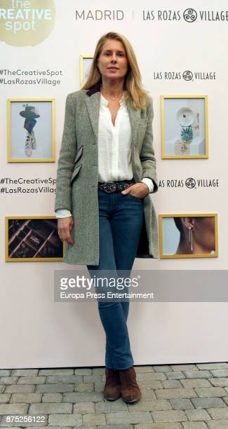 Maria Chavarri attends the opening of the pop up boutique 'The Creative Spot Madrid' at Las Rozas Village on November 16 2017 in Madrid Spain