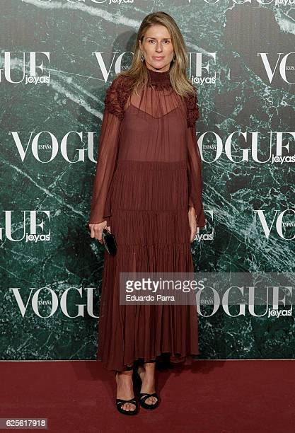 Maria Chavarri attends the 'Vogue Joyas awards' photocall at Duques de Santona palace on November 24 2016 in Madrid Spain