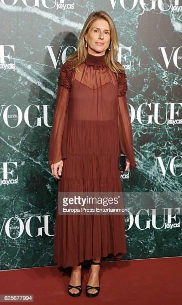 Maria Chavarri attends 'Vogue joyas' awards at Santona Palace on November 24 2016 in Madrid Spain