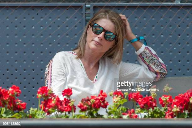 Maria Chavarri during day three of the Mutua Madrid Open tennis tournament at the Caja Magica on May 8 2018 in Madrid Spain