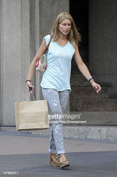 Maria Chavarri is seen on July 5 2012 in Madrid Spain