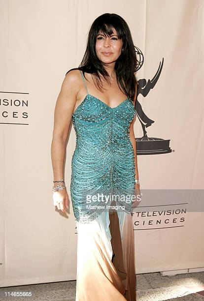 Maria Chonchita Alonso during 57th Annual Los Angeles Area Emmy Awards Arrivals Reception at Leonard H Goldenson Theatre in North Hollywood...