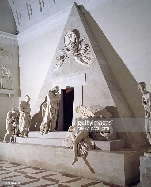 Maria Christina of Austria funerary monument by Antonio Canova model