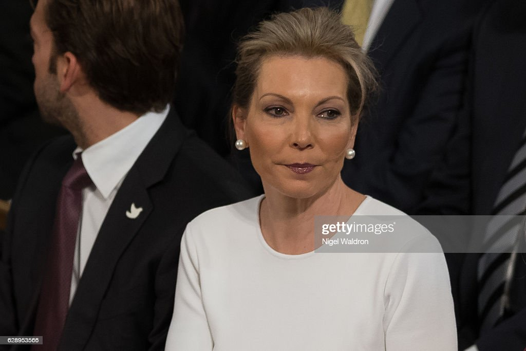 Maria Clemencia Rodriguez of Colombia attends the Nobel Peace Prize ceremony to honour this year's Nobel Peace Prize winner Colombian President Juan Manuel Santos at Oslo Town Hall on December 10, 2016 in Oslo, Norway.