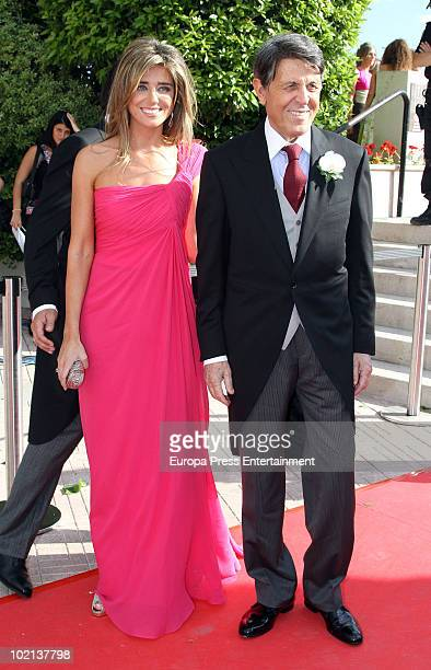 Maria Colonques and Manuel Colonques attend the wedding of his son Manuel Colonques and Cristina Babiloni on June 11, 2010 in Castellon de la Plana,...