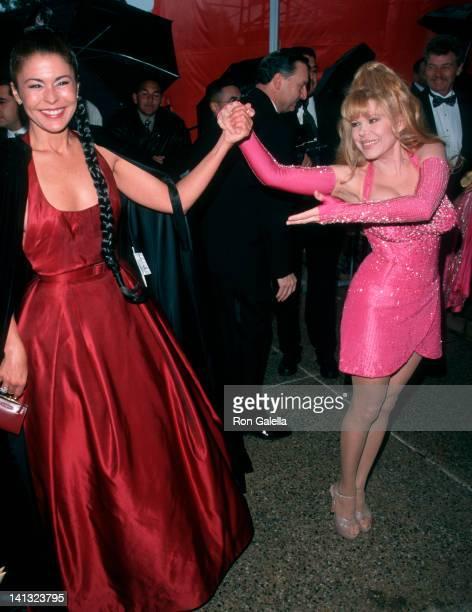 Maria Conchita Alonso and Charo at the 4th Annual ALMA Awards Pasadena Civic Auditorium Pasadena