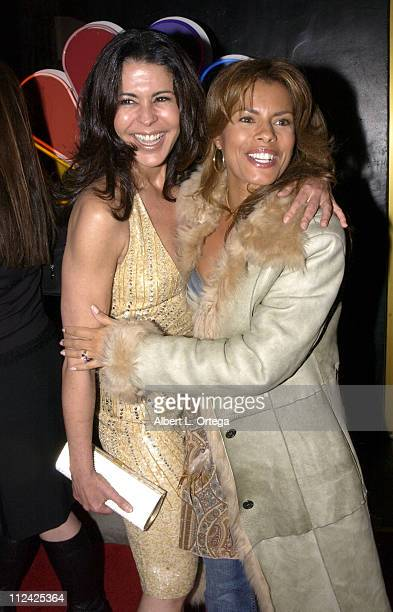 Maria Conchita Alonso and Lisa Vidal during NBC Hosts the World Premiere of Kingpin at Border Grill in Santa Monica California United States