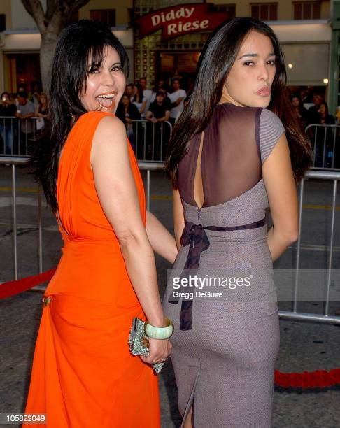Maria Conchita Alonso and Natalie Martinez during 'Babel' Los Angeles Premiere Arrivals at Mann Village Theatre in Westwood California United States