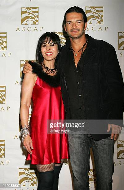 Maria Conchita Alonso and Ricardo Arjona during ASCAP El Premio Music Awards at Beverly Hilton Hotel in Beverly Hills California United States