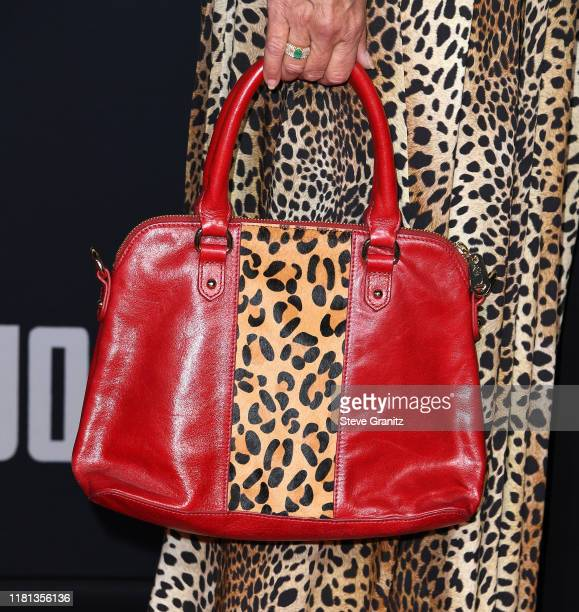 Maria Conchita Alonso arrives at the Premiere Of Fox Searchlights' Jojo Rabbit at Post 43 on October 15 2019 in Los Angeles California