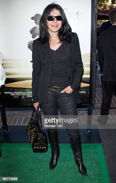 Maria Conchita Alonso arrives to the Los Angeles premiere of 'The Perfect Game' held at Pacific Theaters at the Grove on April 5 2010 in Los Angeles...