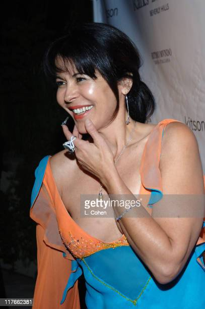 Maria Conchita Alonso at Raffles L'Ermitage during Raffles L'Ermitage's Emmy Kick Off and Anniversary Party in Beverly Hills California United States