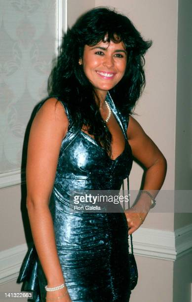 Maria Conchita Alonso at the 1988 Nostros Gold Eagle Awards Century Plaza Hotel Century City