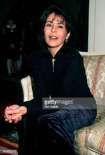 Maria Conchita Alonso at the Fundraising Benefit for Hispanic Foundation of New York City Plaza Hotel New York City