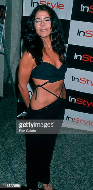 Maria Conchita Alonso at the InStyle Magazine Party 'What's Sexy Now' Center West Westwood