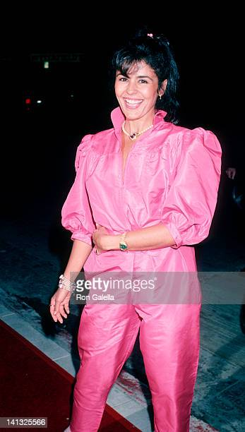Maria Conchita Alonso at the Premiere of 'A Fine Mess' The Comedy Store Hollywood