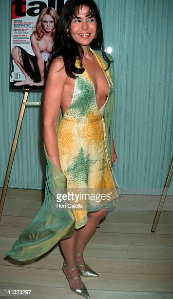 Maria Conchita Alonso at the Talk Magazine Golden Globes Party Mondrian Hotel West Hollywood