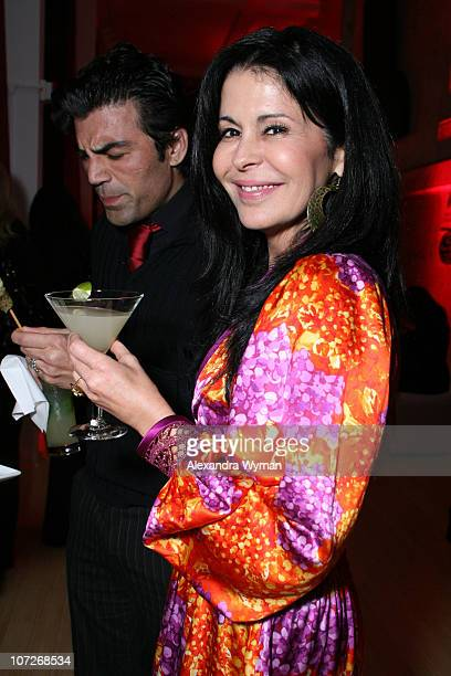 Maria Conchita Alonso attends Bacardi's Latino Legacy Event hosted by the National Hispanic Foundation for the Arts held at The New LATC on February...