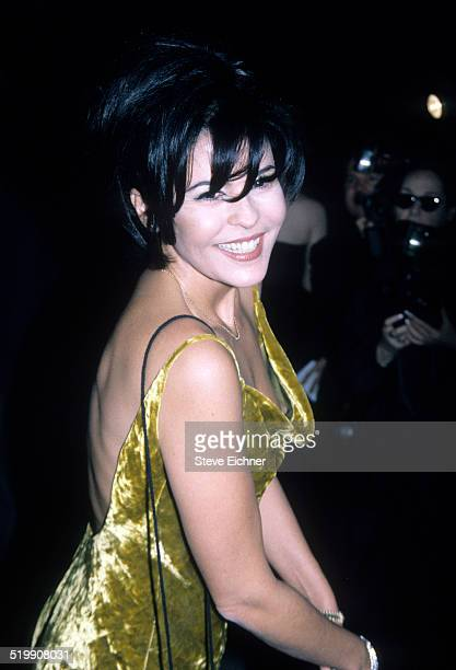 Maria Conchita Alonso attends CFDA awards at Lincoln Center New York New York February 3 1997