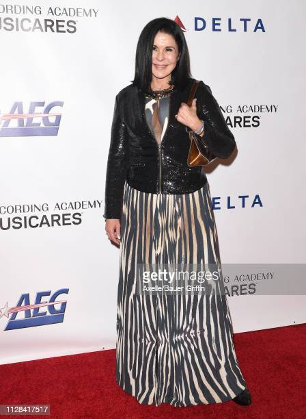 Maria Conchita Alonso attends MusiCares Person of the Year honoring Dolly Parton at Los Angeles Convention Center on February 08, 2019 in Los...