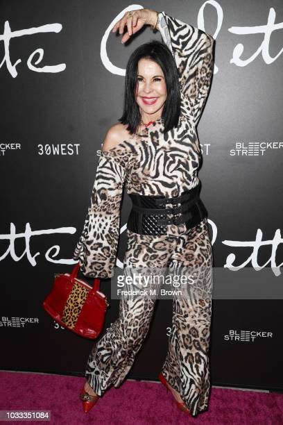 "Maria Conchita Alonso attends the premiere of Bleecker Street Media's ""Colette"" at Samuel Goldwyn Theater on September 14, 2018 in Beverly Hills,..."