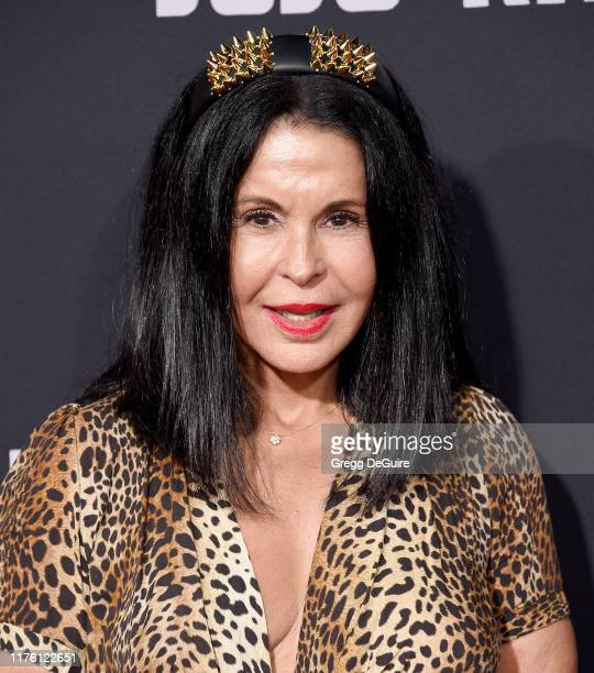 Maria Conchita Alonso attends the Premiere Of Fox Searchlights' Jojo Rabbit at Hollywood American Legion Post 43 on October 15 2019 in Los Angeles...