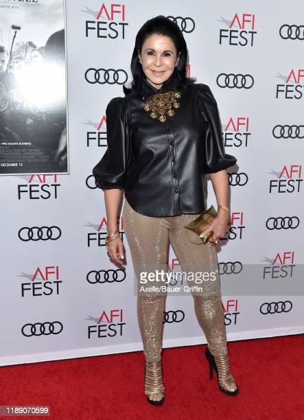 Maria Conchita Alonso attends the premiere of Richard Jewell during AFI FEST 2019 presented by Audi at TCL Chinese Theatre on November 20 2019 in...